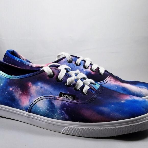6a37185454 Vans Cosmic Galaxy Tennis Shoes Women s Size 7.5. M 5c4d130c534ef991110d1c43